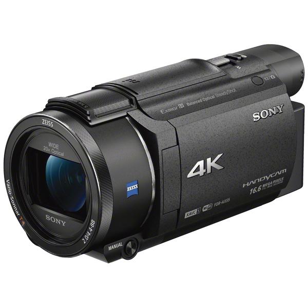 デジタル4Kビデオカメラレコーダー Handycam AX55 ブラック FDR-AX55/B(FMDI006839)