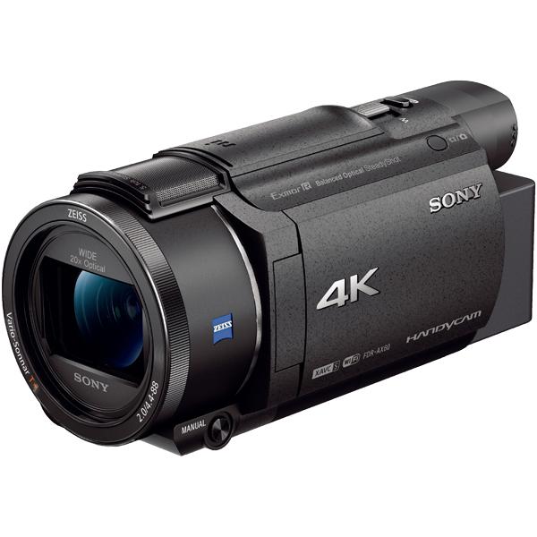 デジタル4Kビデオカメラレコーダー Handycam AX60 ブラック FDR-AX60/B(FMDI012110)