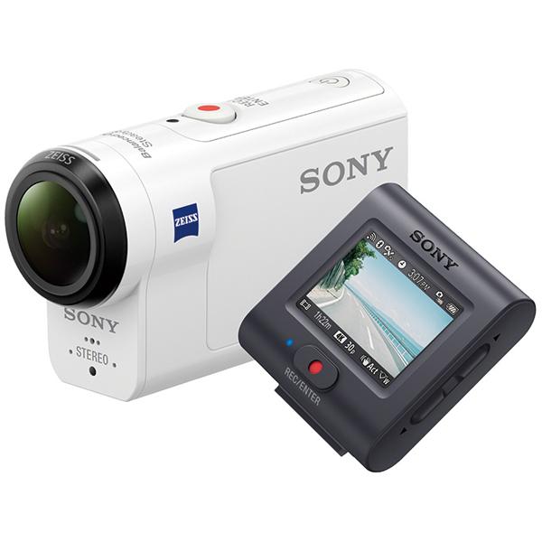 デジタル4Kビデオカメラレコーダー アクションカム ライブビューリモコン付 FDR-X3000R(FMDI006202)