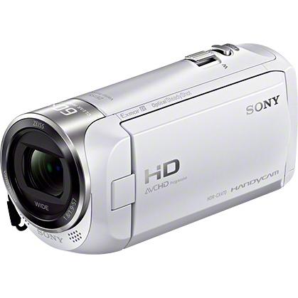デジタルHDビデオカメラレコーダー Handycam CX470 ホワイト HDR-CX470/W(FMDI007235)
