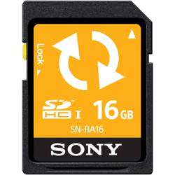 SDHCメモリーカード 16GB (バックアップ機能付) SN-BA16F(FMDI004664)