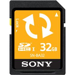 SDHCメモリーカード 32GB (バックアップ機能付) SN-BA32F(FMDI004665)