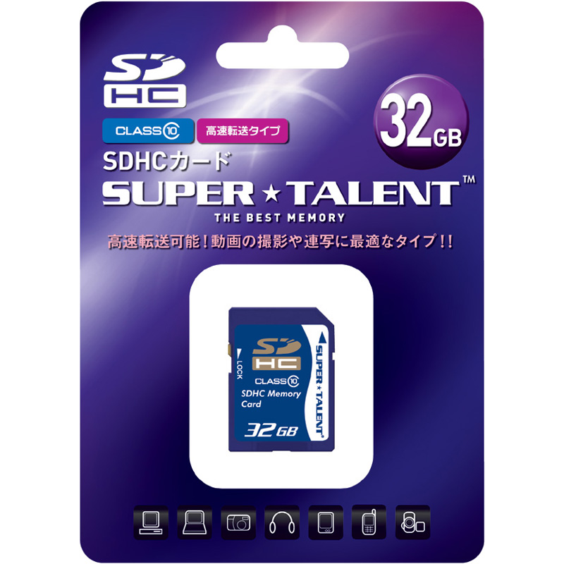 SDHC�������[�J�[�h 32GB Class10 ST32SDC10(FMDI004671)