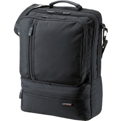 3WAYビジネスバッグ(15.6型ワイド・シングル・タテ型・ブラック) BAG-3WAY18BK(FMDI003152)