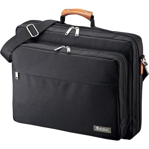 PCキャリングバッグ(15.6型ワイド対応・ブラック) BAG-C38BKN(FMDI005464)
