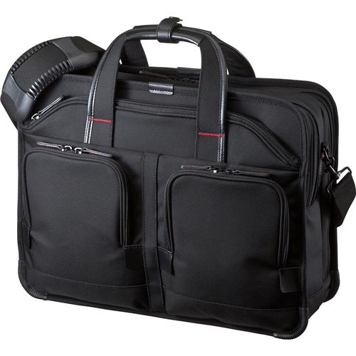 エグゼクティブビジネスバッグPRO(15.6インチワイド・ダブル・ブラック) BAG-EXE8(FMDI005473)