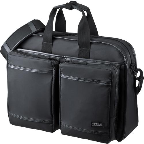 超撥水・軽量PCバッグ(15.6インチワイド・シングル・ブラック) BAG-LW9BK(FMDI005479)