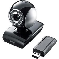 ワイヤレスWEBカメラ(ブラック) CMS-V36BK(FMDI004956)