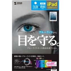 iPad 第4/3/2世代用ブルーライトカット液晶保護フィルム LCD-IPAD4BC(FMDI009874)