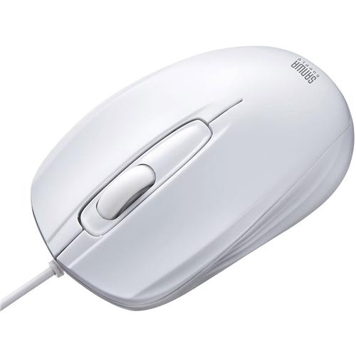 有線光学式マウス(ホワイト) MA-127HW(FMDI008637)