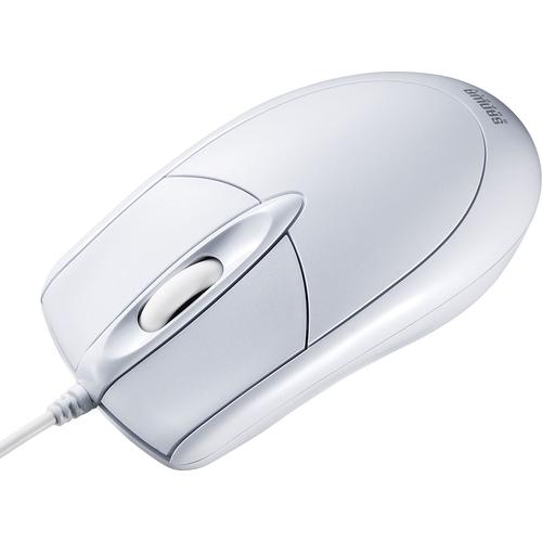 PS/2有線光学式マウス(ホワイト) MA-130HPW(FMDI008641)