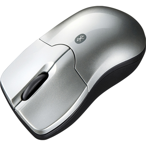 Bluetooth3.0 ブルーLEDマウス(シルバー) MA-BTBL27S(FMDI005025)