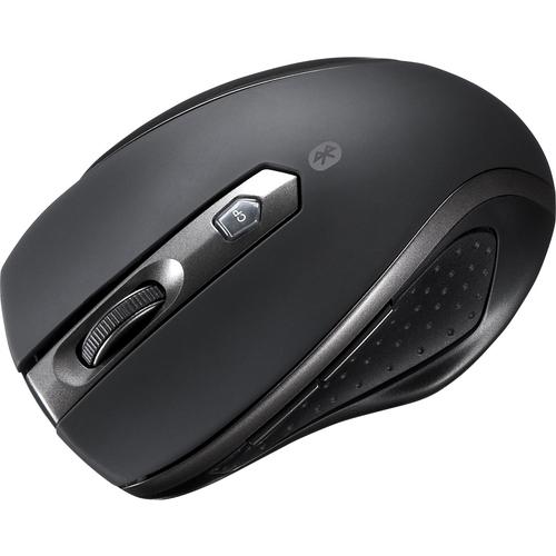 Bluetooth3.0 ブルーLED静音マウス(ブラック) MA-BTBL28BK(FMDI008673)