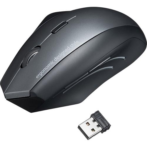 ワイヤレスエルゴブルーLEDマウス MA-ERGW8(FMDI008110)