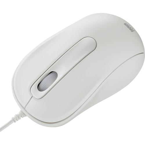 有線レーザーマウス(ホワイト) MA-LS26W(FMDI008693)