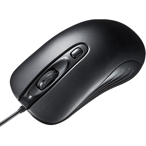 有線レーザーマウス(ブラック) MA-LS27BK(FMDI008694)