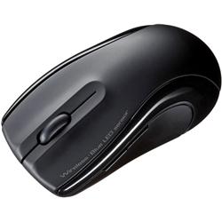 充電式ワイヤレスブルーLEDマウス(ブラック) MA-WBL20BK(FMDI008120)