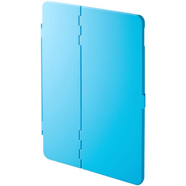 10.5インチiPad Pro ハードケース(スタンドタイプ・ブルー) PDA-IPAD1104BL(FMDI009913)
