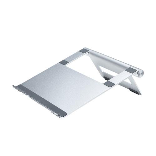 ノートパソコン用アルミスタンド(平置きタイプ) PDA-STN34S(FMDI014713)