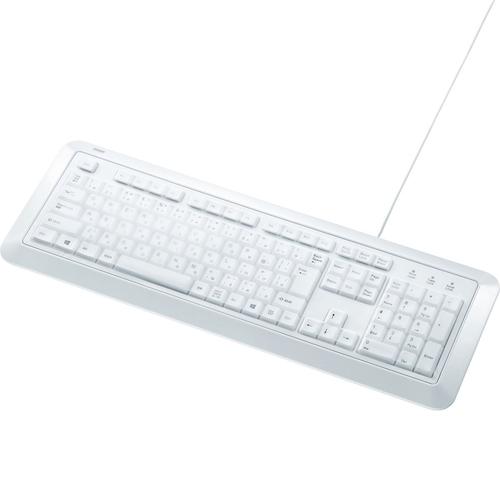 防水防塵キーボード(ホワイト) SKB-BS5W(FMDI008218)
