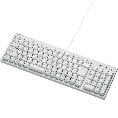 コンパクトキーボード(ホワイト・テンキー付き) SKB-KG2WN(FMDI008225)