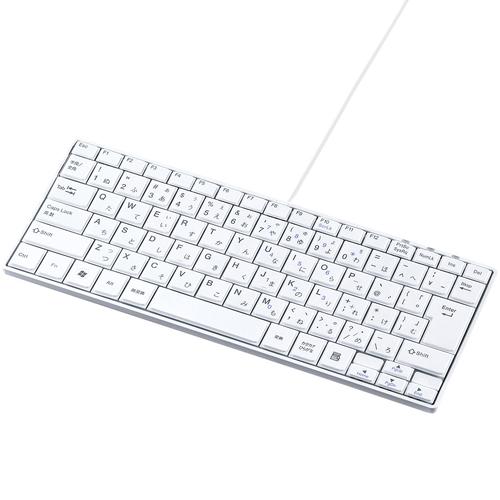 USBスリムキーボード(ホワイト) SKB-SL18WN(FMDI008244)