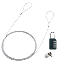 パソコンセキュリティワイヤーロック(ダイヤル錠タイプ) SL-58(FMDI001209)