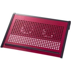 ノート用クーラーパッド(レッド) TK-CLN16U2RN(FMDI003036)