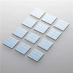 ノートパソコン冷却パッド(12枚入り・ブルー) TK-CLNP12BL(FMDI003047)