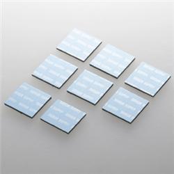 ノートパソコン冷却パッド(8枚入り・ブルー) TK-CLNP8BL(FMDI003053)
