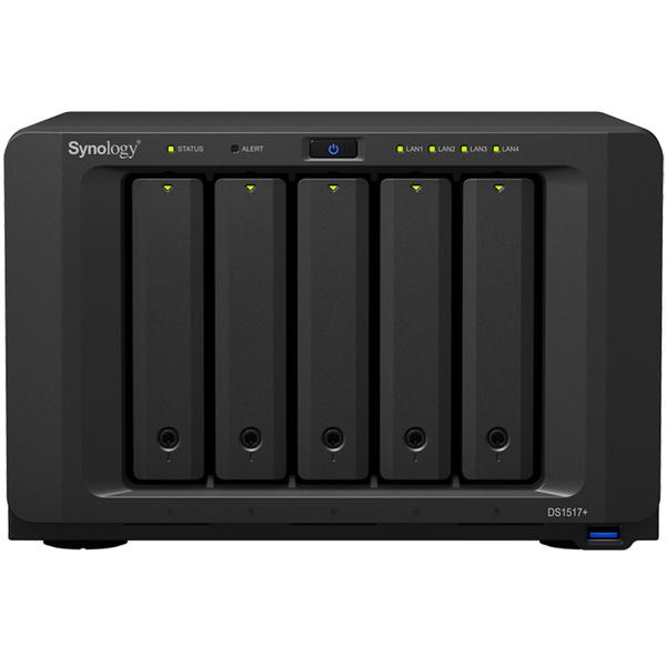 DiskStation DS1517+ メインメモリ2GB 5年保証モデル DS1517+(2GB)/EW201(FMDI008032)
