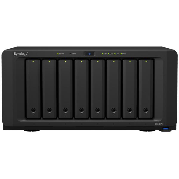 DiskStation DS1817+ メインメモリ2GB 5年保証モデル DS1817+(2GB)/EW201(FMDI008036)