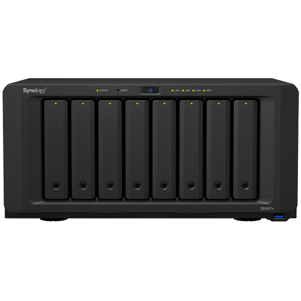DiskStation DS1817+ メインメモリ8GB 5年保証モデル DS1817+(8GB)/EW201(FMDI008038)