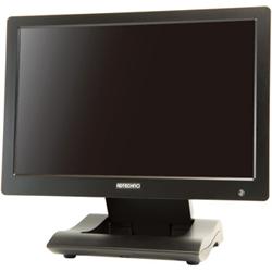10.1型高解像度液晶搭載 業務用液晶ディスプレイ(ブラック) LCD1015(FMDI006119)