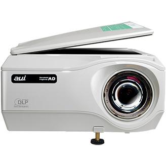書画カメラ一体型プロジェクター 2800lm XGA 6.1kg DLP方式 短焦点 AD-1100XS(FMDI009541)