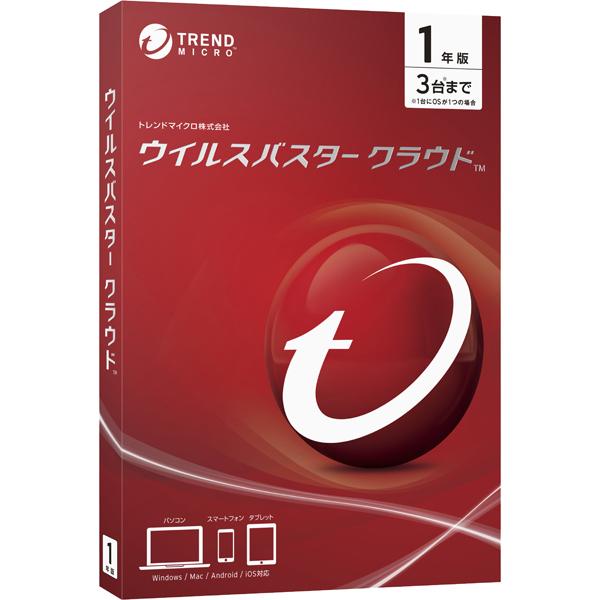 ウイルスバスター クラウド 1年版 PKG(FMDIS01212)