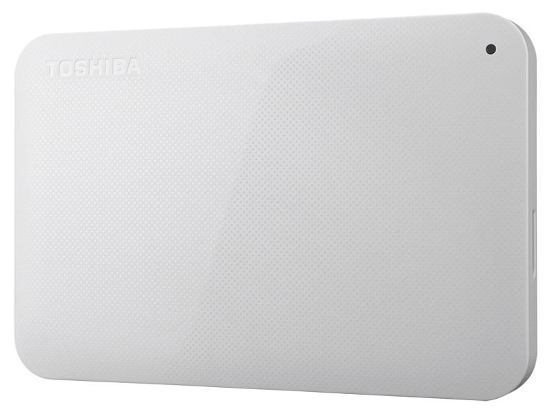 ポータブルハードディスク CANVIO BASICS(HD-ACシリーズ) 1.0TB ホワイト HD-AC10TW(FMDI005170)
