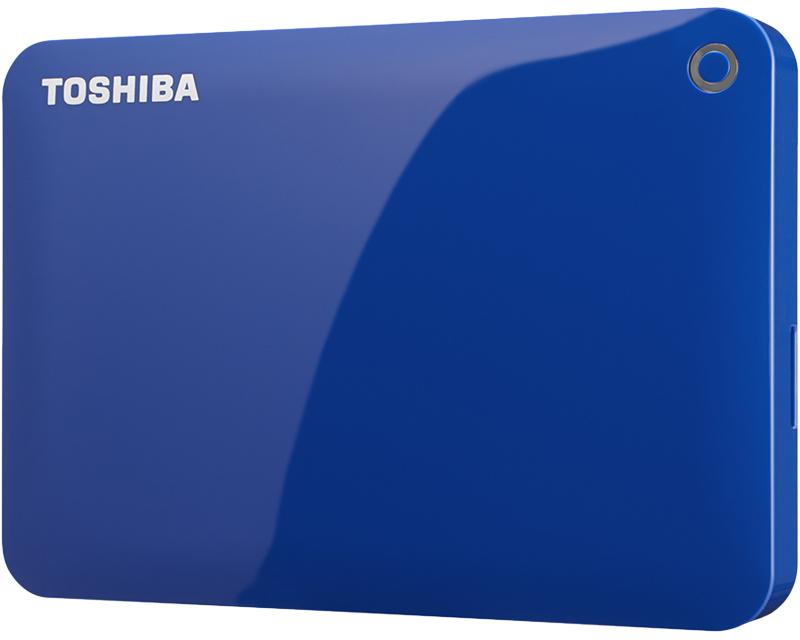 ポータブルハードディスク CANVIO CONNECT(HD-PEシリーズ) 2.0TB ブルー HD-PE20TB(FMDI005182)