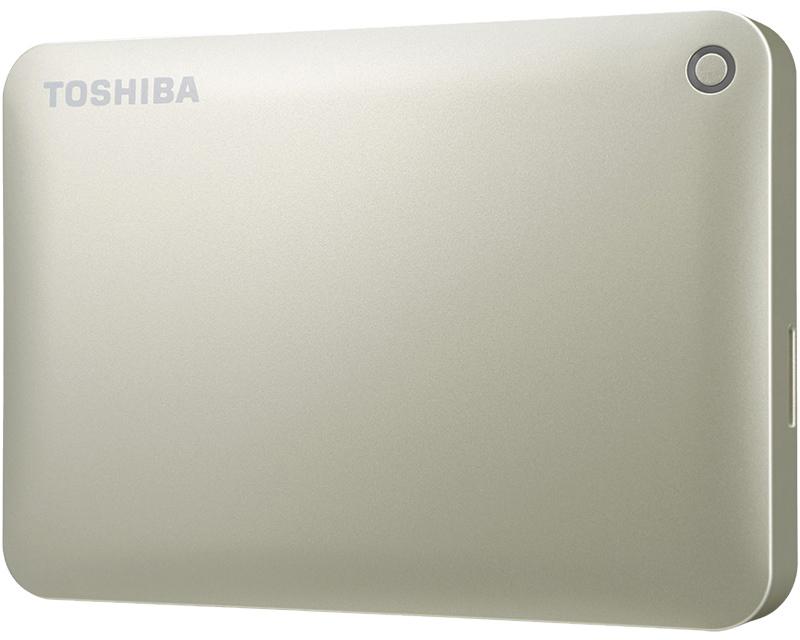 ポータブルハードディスク CANVIO CONNECT(HD-PEシリーズ) 2.0TB サテンゴールド HD-PE20TG(FMDI005183)