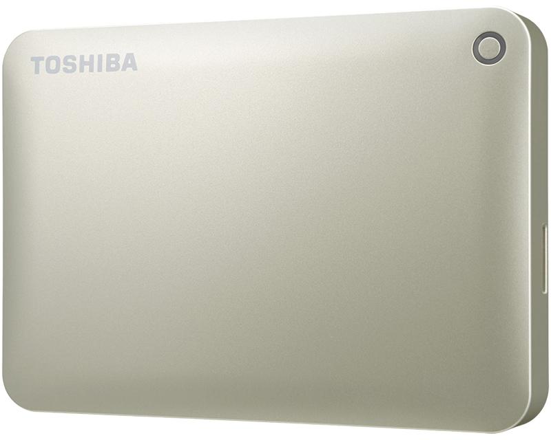 ポータブルハードディスク CANVIO CONNECT(HD-PEシリーズ) 3.0TB サテンゴールド HD-PE30TG(FMDI005187)