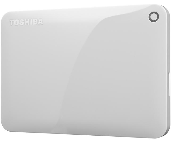 ポータブルハードディスク CANVIO CONNECT(HD-PEシリーズ) 500GB ホワイト HD-PE50GW(FMDI005193)