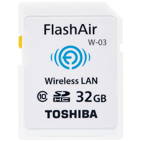 ����LAN����SDHC�������J�[�h FlashAir 32GB SD-WE032G(FMDI004741)