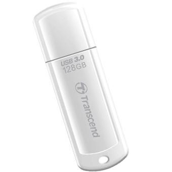 128GB USB3.0メモリ JetFlash 730 ホワイト TS128GJF730(FMDI012896)