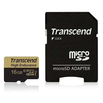 16GB microSDHCカード ドライブレコーダー向け TS16GUSDHC10V(FMDI013403)