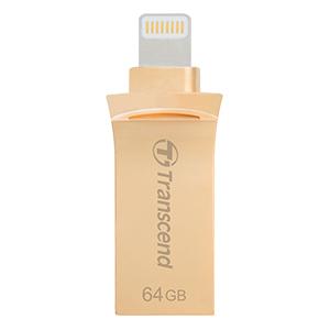 32GB USBメモリ JetDrive Go 500 ゴールド TS32GJDG500G(FMDI012940)