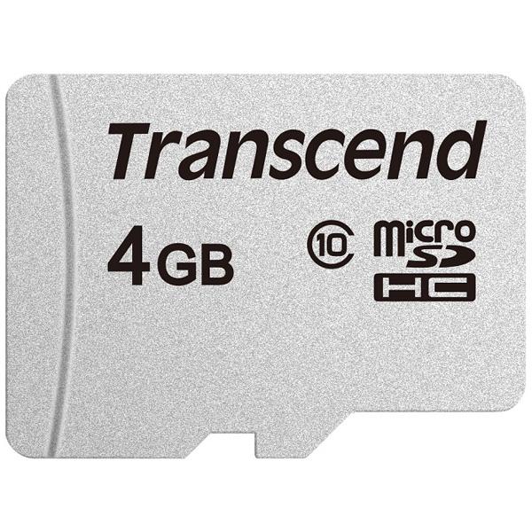 4GB microSDHCカード Adapter無 Class10 TLC TS4GUSD300S(FMDI013419)