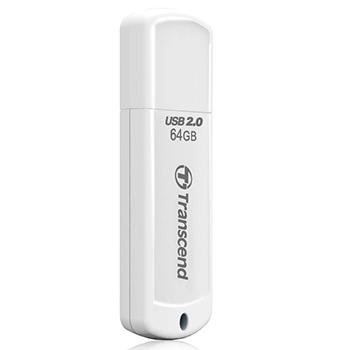 64GB USB2.0メモリ JetFlash 370 ホワイト TS64GJF370(FMDI012991)