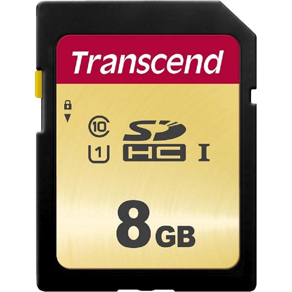 8GB UHS-I U1 SDHC Card (MLC) TS8GSDC500S(FMDI013199)