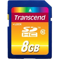 8GB SDHCカード Class 10 TS8GSDHC10(FMDI013200)