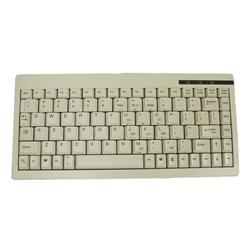 有線キーボード(PS2) 88キー英語 ホワイト ACK-595-US-PS2-R(FMDI008263)